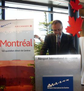 Yves Dufresne, vice-président d Air Canada