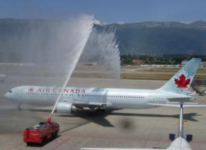 AIG Air Canada premier vol direct Montréal-Toronto