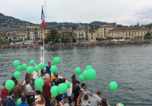 Bateau Savoie ballons