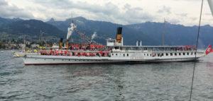 Parade Navale Vevey Suisse avec ballons