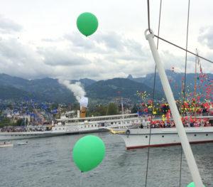 Parade Navale Vevey ballons