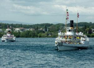 bateaux Rhône et Vevey