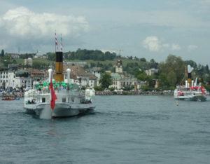 bateaux CGN Simpon et Suisse
