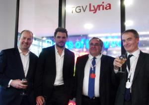Partenariat avec TGV Lyria