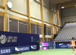 Swiss Tennis Arena Lesley Kerkhove