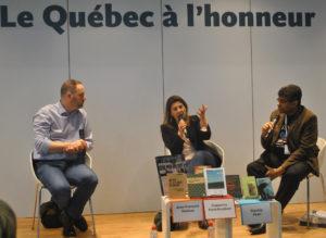 Québec au Salon du Livre 2017