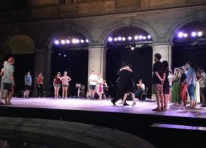 Démonstration de tango dans la Cour du Musée d'art et d'histoire