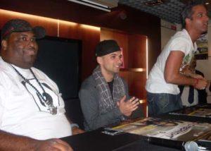 Big Ali, D-Bass et JayStyle.