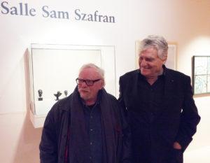 Leonard Gianadda et Sam Szafran