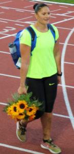 Valérie Adams: lancer poids