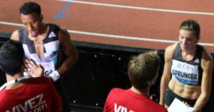 Orlando Ortaga (110m haie) - Lea Sprunger (400m haie)