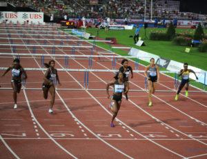 Kendra Harrison - Clélia Rard-Reuse (100m haie)