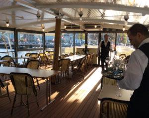 CGN bateau Italie restaurant