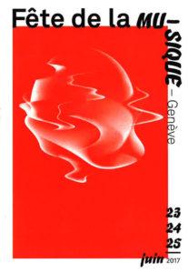 26e Fête de la musique Genève affiche
