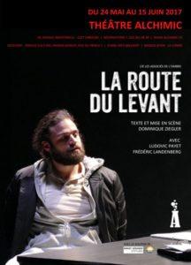 La Route du Levant Ziegler Alchimic