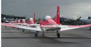 Pilatus PC7 Team Swiss Air Force