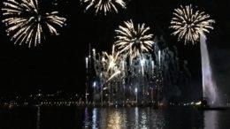 Feux d'artifice Genève 2018 Jet d'eau