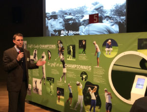 Musee Olympique exposition Golf