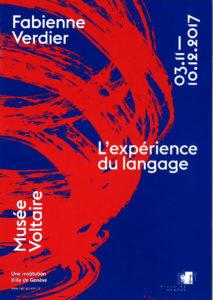 Exposition musée Voltaire Genève