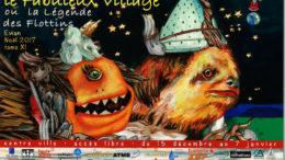 Affiche fabuleux village Evian theatre Toupine