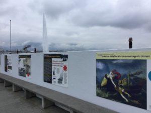 Exposition Fantômes aux Bains des Pâquis, Genève