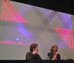Présentatin du festival Black Movie à Genève, les directrices