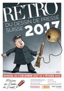 Maison du dessin de presse Morges 2018