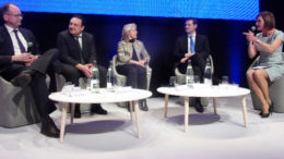 Guy Parmelin, Conseiller fédéralet Alain Bruno Levy, président de la CICAD