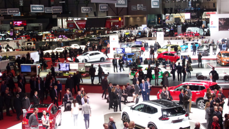 Automobile actualit des salons salon international de l for Salon du fitness palexpo