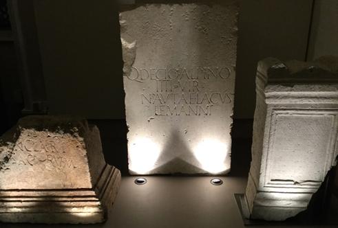 Exposition temporaire 2019 César et le Rhône, chefs-d'oeuvre antiques d'Arles