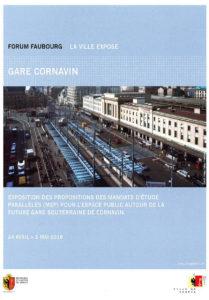 Exposition Gare Cornavin Forum Faubourg Genève