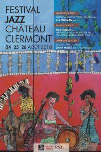 Château de Clermont festival de Jazz 2018