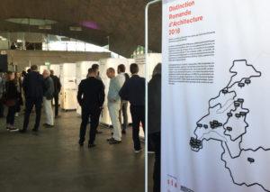 Pavillon Sicli Exposition architecture 2018