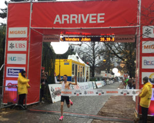 Course de l'Escalade, Escaladélite Elite hommes record