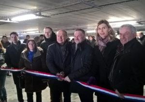 Inauguration Parking mutualisé ZAC Etoile gare Annemasse SAGS 13 décembre 2019