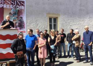 Maison du Dessin de Presse Morges fête 10 ans 2019