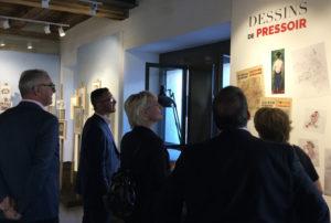 Exposition André Paul, Maison du Dessin de Presse Morges fête 10 ans 2019