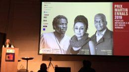 Cérémonie pour le Prix Ennals, pour les défenseurs des droits humains