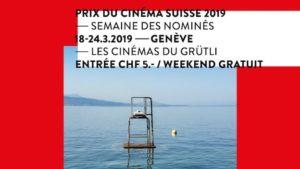 Cinéma du Grütli 2019 projections des films nominés au Prix du Cinéma Suisse