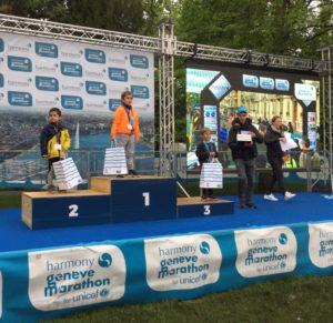 Genève Marathon Harmony 2019 Jardin anglais, remise des prix