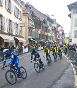 Tour de Romandie 2019, rue de Morges