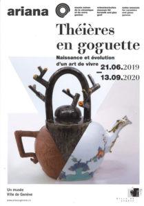Exposition temporaire musée suisse de la céramique et du verre Genève