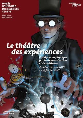 Exposition bicentenaire 2020 Musée d'histoire des sciences Genève