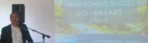Union Cycliste Internationale Aigle Présentation Tour de Romandie 2020 Gran Fondo Suisse UCI Villars 2020