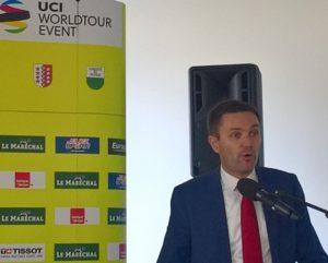 Union Cycliste Internationale Aigle Présentation Tour de Romandie 2020