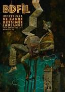 affiche festival Bande Dessinée Lausnne 2018