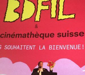 Capitol cinémathèque suisse Bande dessinée Lausanne 2019