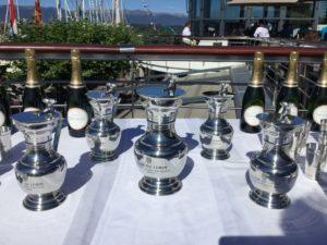 Tour du Léman à l'aviron 2019 remise des prix Nautique 2019
