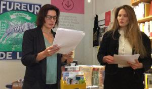 Fureur de Lire 2019 Librairie Nouvelles pages Carouge