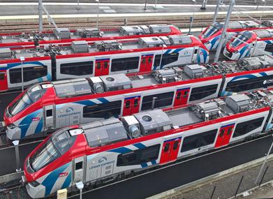 Léman Express rames françaises, inauguratin décembre 2019